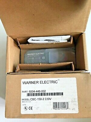 WARNER ELECTRIC CBC-150-2 Clutch/Brake Control
