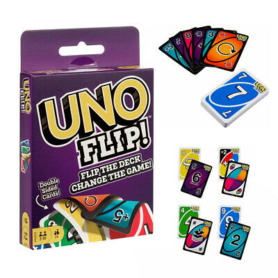 UNO Flip! *Double Sided Card Game* The 2nd Version AUS STOCK Mattel Kids Family