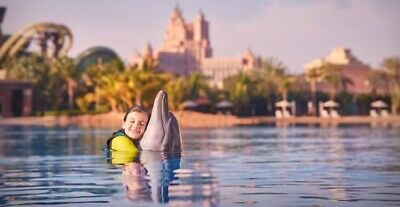Dubai Entertainer 2020 Dolphin Bay - Atlantis Hotel Dubai Dolphin Adventure