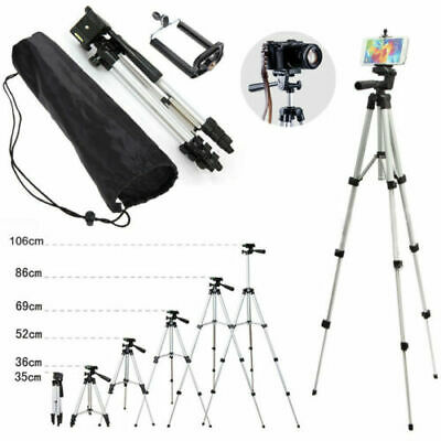 Lightweight Portable Tripod Stand For DSLR Digital Camera Camcorder Fishing Lamp