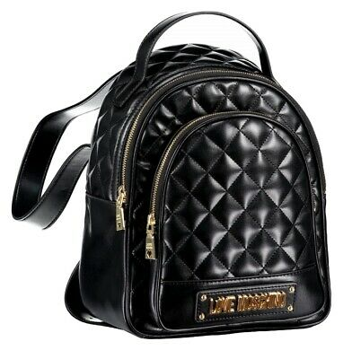 LOVE MOSCHINO Women's Bag Backpack JC4001PP16LA0850 Borsa Quilted Nappa Pu Verde