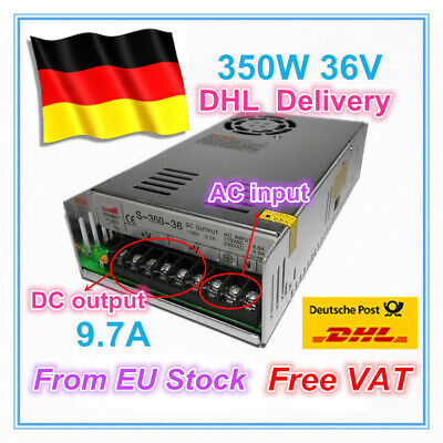 【DE】 350W 36V 9.7A DC Switching Power Supply For CNC Router/LED Strip/3D Printer