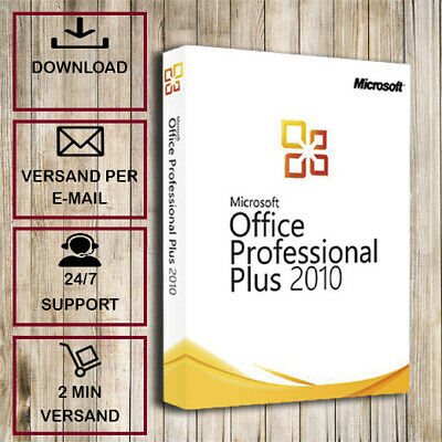 Office 2010 Pro Plus ✓ Professional Plus ✓32/64 Bit ✓ Produkt in 2 min per Email