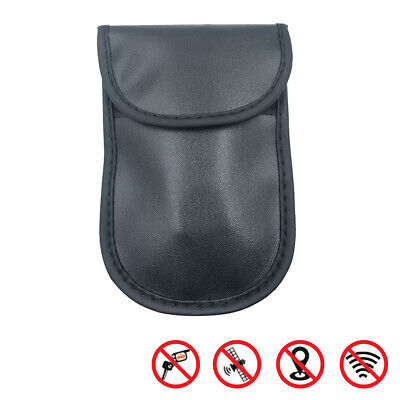 Car Key Signal Blocker Case RFID Cage Bag Signals Blocking Pouch for Phone 17