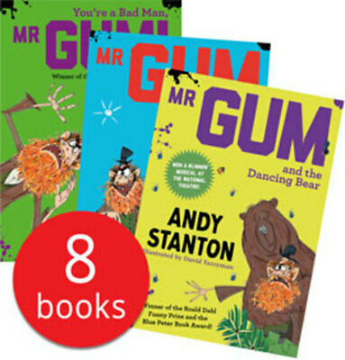 Mr Gum Collection - 8 Books