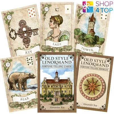 Old Style Lenormand Fortune-Telling Cards Deck Us Games Systems Alexander Ray