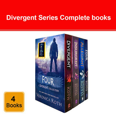 Divergent Series 3 Book Set Boxed Collection Pack By Veronica Roth
