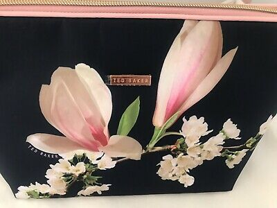 Ted Baker Large Cosmetic Floral Beauty Makeup Toiletries Washbag Travel/Holiday,