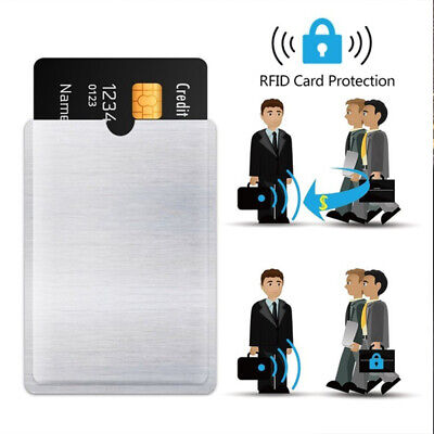 Protector Case Sleeve Wallet Protect Case Cover RFID Blocking Card Holder