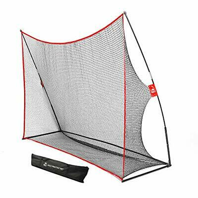 Practice Golf Hitting Net by Day 1 Sports - Large 10' x 7' - Portable Carry