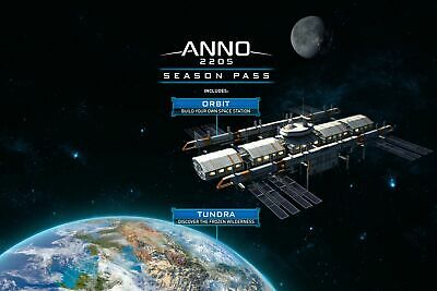 Anno 2205 Season Pass PC Download Erweiterung Uplay Code Email (OhneCD/DVD)
