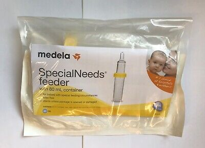 SpecialNeeds Feeder with 80mL Collection Container #6000S By Medela - READ LIST