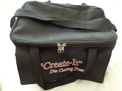Black Craft Create-It Tote Storage Bag With Shoulder Strap