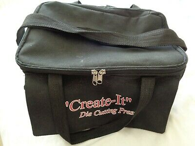 Black Craft Tote Storage Bag With Shoulder Strap
