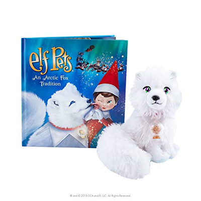Elf Pets: an Arctic Fox Tradition, Illustrated Storybook,Adorable Arctic Fox Cub