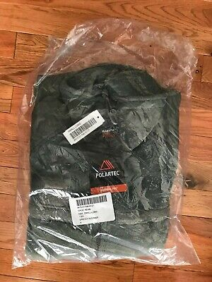 US Military Army Gen 3 ACU Foliage Green Polartec Fleece Jacket SS SL L NEW!!
