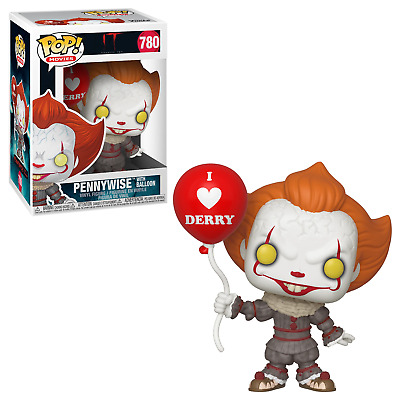 IT Chapter Two #780 - Pennywise with Balloon - Funko Pop! Movies (Brand New)