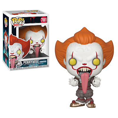IT Chapter Two #781 - Funhouse Pennywise with Dog Tongue - Funko Pop! Movies