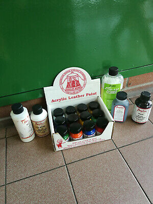 Angelus Brand Leather Paints kit-Leather Acrylic-Scarpe pittura