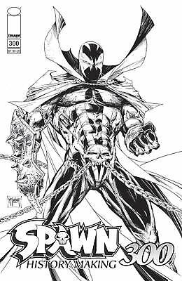 Spawn 300 Cover B McFarlane BW Variant 9/4/19 IN STOCK FAST SHIP Sold Out