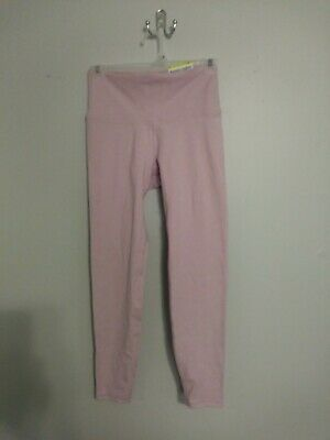 Old Navy Active Go Dry Pink High Rise Balance Ankle Leggings Size Small