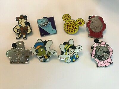 8 Disney Themed Pins Lot 22