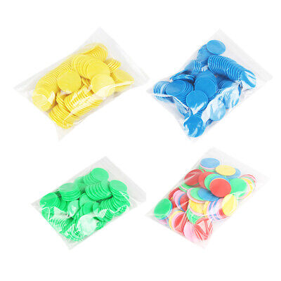 100PCS/Set Counters for Maths Toys Plastic Sorting Matching Probability 25mm