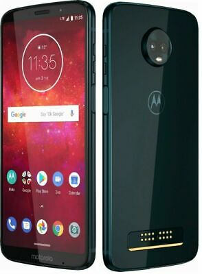 Moto Z3 Play - Indigo Blue-  64GB - Verizon/Sprint/US Cellular