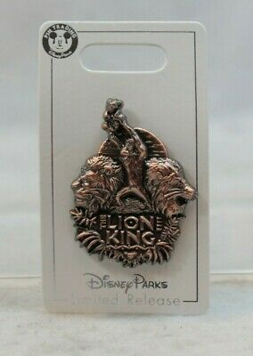 Disney parks Pin Opening Day LIVE ACTION MOVIE THE LION KING Simba Scar Mufasa