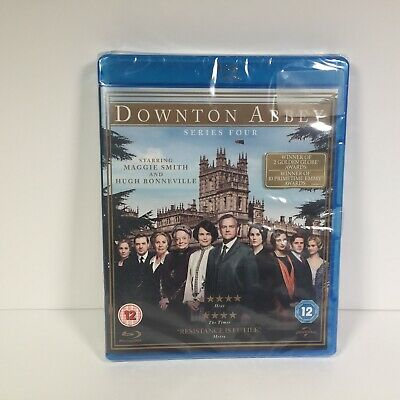 Downton Abbey - Complete Series 4 (Blu-ray, 3-Disc Set) - Maggie Smith