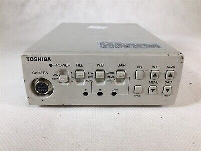 Used Toshiba 3CCD Camera System IK-TU40A Controller Tested Working O7