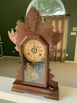 Seth Thomas Antique Mantle Clock With Alarm - Nice!
