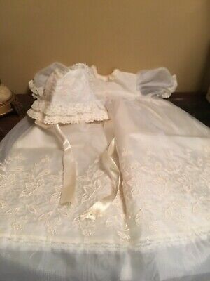 antique Vintage baby christening gown outfit