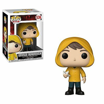 Funko Pop IT Georgie Denbrough w/ Boat Non Chase Vinyl Figure - New in Box MIB