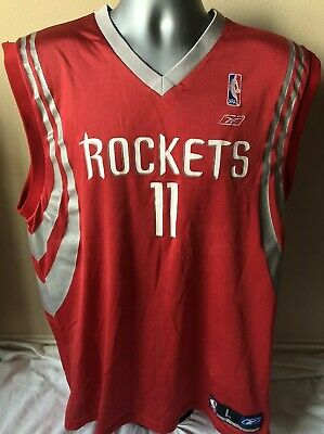 timeless design 9bd90 f8be3 VINTAGE HOUSTON ROCKETS Yao Ming Reebok Jersey Throwback S ...