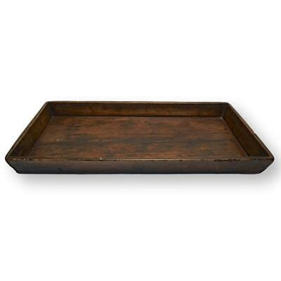 Antique Chinese Beechwood Serving Tray