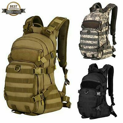 Tactical Large Assault Backpack Heavy-Duty Military Molle Backpack OD 45 Liters