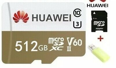 Huawei 512Gb MICRO SD W/ SD+USB Card Reader For Android/ Smartphone- READ DESCR.