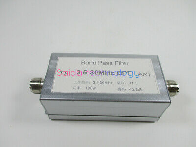 3.5-30MHz band-pass filter BPF for Reduce shortwave interference Ham Radio