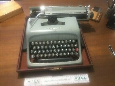 Vintage and collectible Olivetti Studio 44 Typewriter