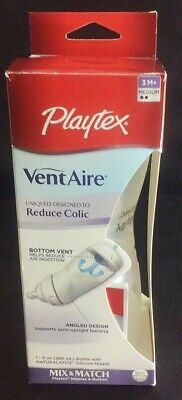 Playtex VentAire Baby Bottle 9 oz Reduce Colic BPA Free
