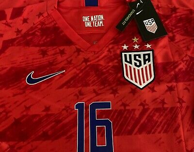 best loved a9f66 1826e NEW NIKE USA USWNT Soccer - Long Sleeve Player Issue ...