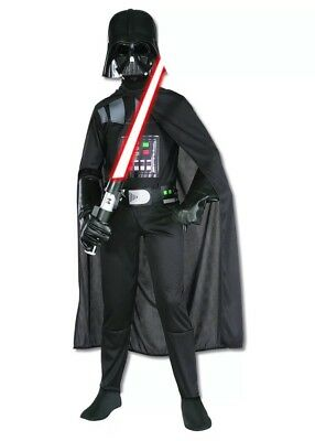 Rubies Star Wars Darth Vader Halloween Costume Childs Large NEW NWT