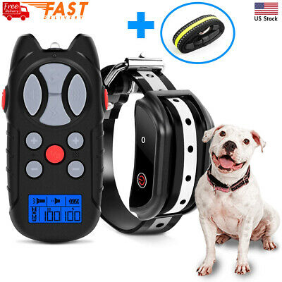 Newest Model Shock Collar for Dogs, Flittor Dog training Collar, Rechargeable