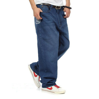 ECKO Mens Jeans Loose Fit Big Boys Casual Trouser Thick Rugged Wear 16 Years 30W