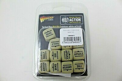Bolt Action Order Dice ( Sand ) New