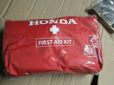 Genuine Honda First Aid kit dated 11/2020 sealed 08Z25-9R6-600  DIN 13164  A120