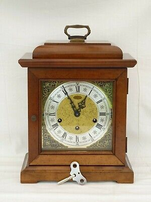 Urgos, Ridgeway, Colonial Triple 3 Tune Winchester Chime Bracket Mantle Clock