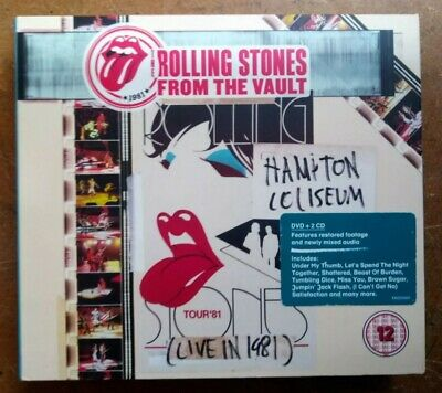 THE ROLLING STONES - From the Vault: Hampton Coliseum (Live