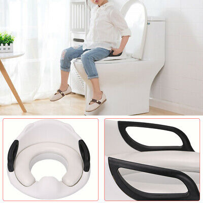 2 in1 Baby Toilet Chair Stool Seat Training Child Toddler Kid Safe Potty Trainer